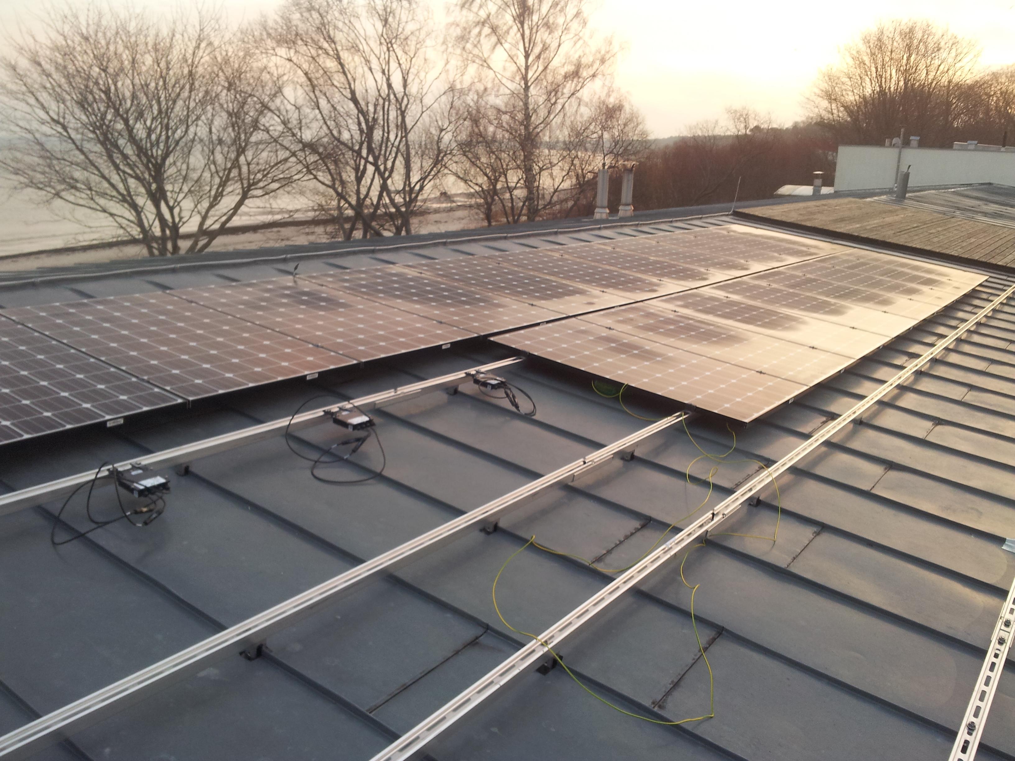Privātmāja Jūrmalā, saules paneļu jauda 11 kW