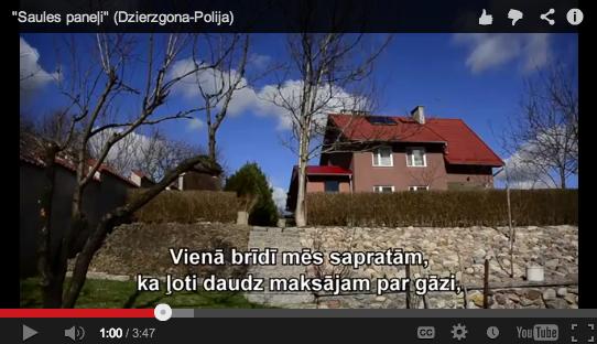 Kā saules enerģiju izmanto Polijā?